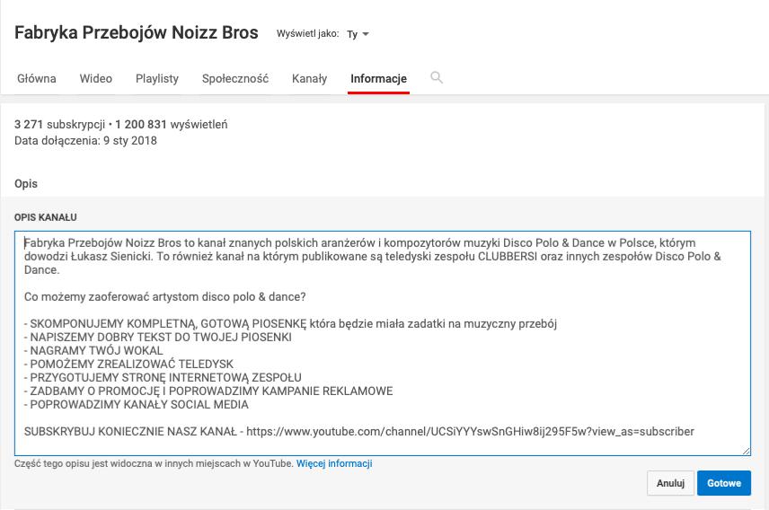 spotykam się z youtube
